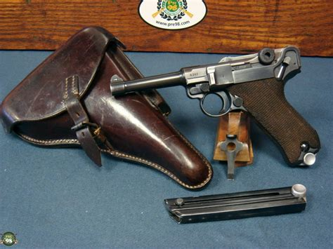SOLD ULTRA RARE 1939 S/42 GERMAN ARMY LUGER PISTOL
