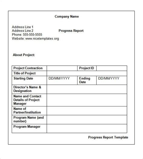 Weekly Status Report Templates - 30+ Free Documents