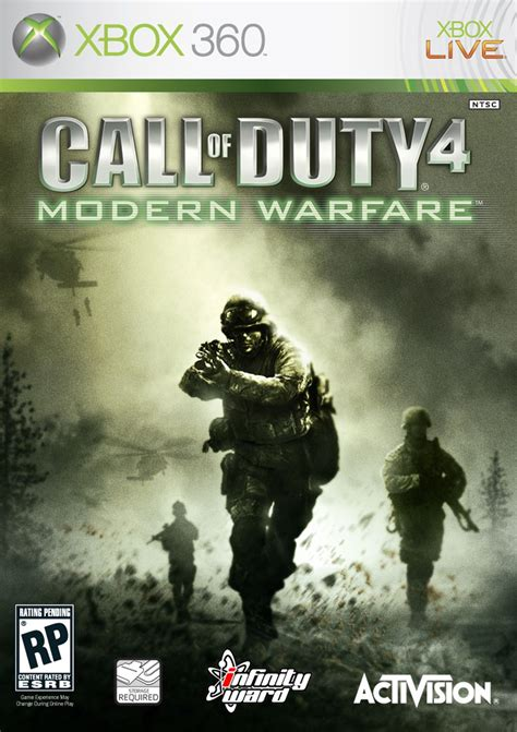 News: Vote For Call of Duty 4 Box Art   MegaGames