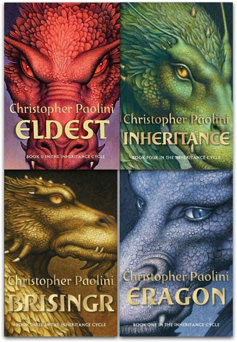 Christopher Paolini Collection The Inheritance Cycle