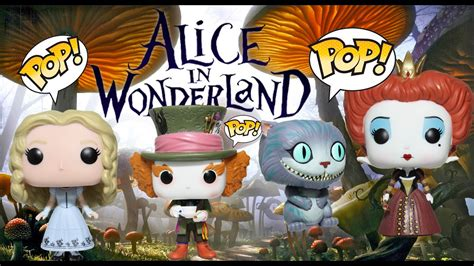 Alice in Wonderland Funko Pops Collection Review - YouTube
