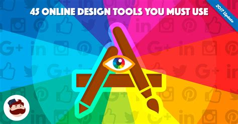 45+ Online Design Tools to Create Stunning Visuals for