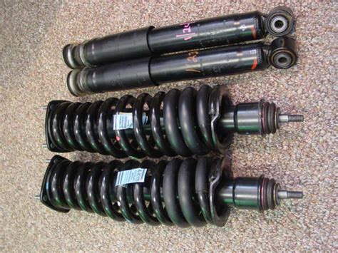replacing rear shocks and springs 1999 ml320 question