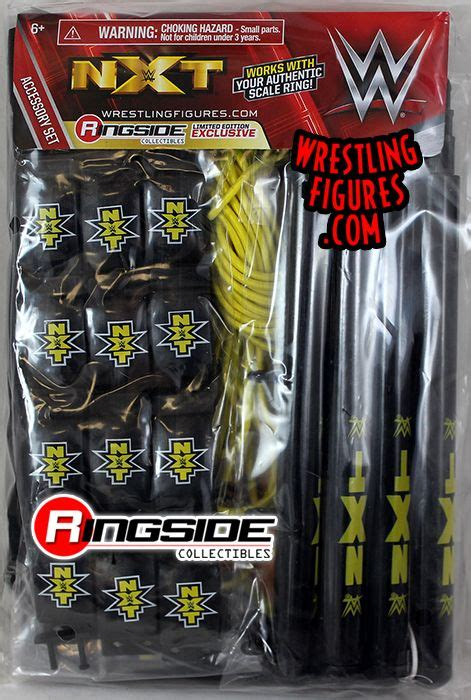 """""""NXT Accessory Pack"""" - Ringside Collectibles Exclusive WWE"""