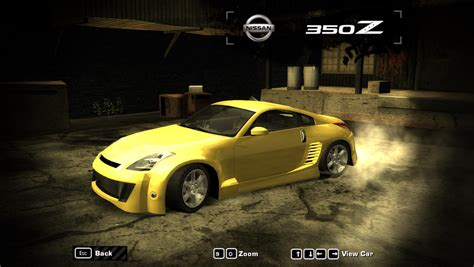 Need For Speed Most Wanted Nissan 350Z v3