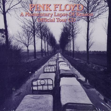 Pink Floyd A Momentary Lapse Of Reason Official Tour CD US