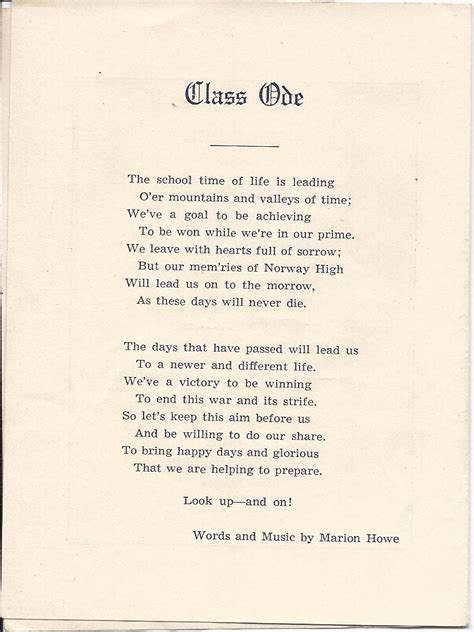 Heirlooms Reunited: Class of 1944 of Norway, Maine High School