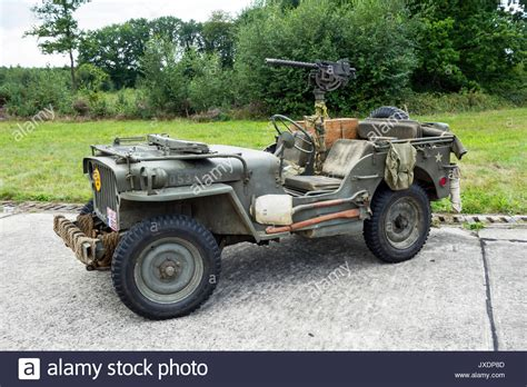World War Two US Army Willys MB jeep, four-wheel drive